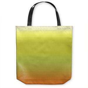 Unique Shoulder Bag Tote Bags | Susie Kunzelman - Ombre Sunset | Ombre Monochromatic