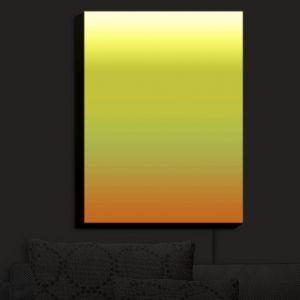 Nightlight Sconce Canvas Light | Susie Kunzelman - Ombre Sunset