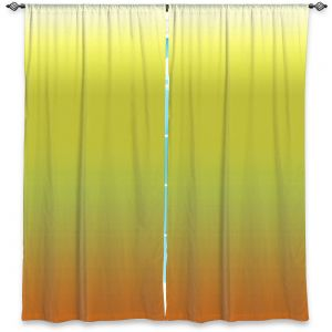 Decorative Window Treatments | Susie Kunzelman - Ombre Sunset | Ombre Monochromatic