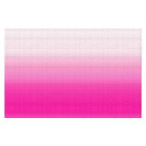 Decorative Floor Coverings | Susie Kunzelman - Ombre Sweetest Pink