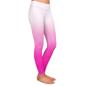 Casual Comfortable Leggings | Susie Kunzelman - Ombre Sweetest Pink