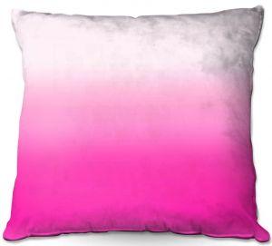 Throw Pillows Decorative Artistic | Susie Kunzelman - Ombre Sweetest Pink