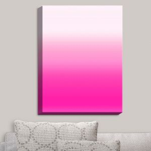Decorative Canvas Wall Art | Susie Kunzelman - Ombre Sweetest Pink | Ombre