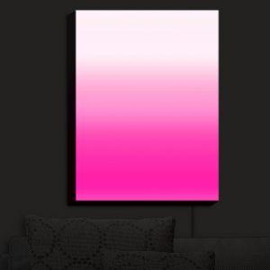 Nightlight Sconce Canvas Light | Susie Kunzelman - Ombre Sweetest Pink | Ombre