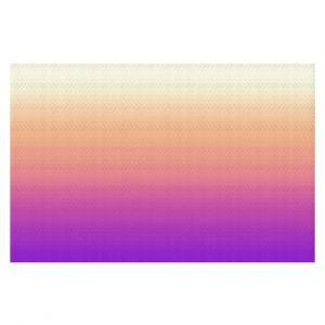 Decorative Floor Coverings | Susie Kunzelman - Ombre Violet