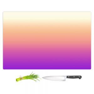 Artistic Kitchen Bar Cutting Boards | Susie Kunzelman - Ombre Violet