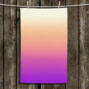 Unique Hanging Tea Towels | Susie Kunzelman - Ombre Violet | Ombre