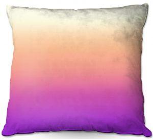 Throw Pillows Decorative Artistic | Susie Kunzelman - Ombre Violet