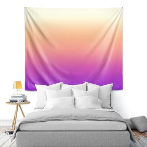 Artistic Wall Tapestry | Susie Kunzelman - Ombre Violet