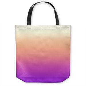 Unique Shoulder Bag Tote Bags |Susie Kunzelman - Ombre Violet