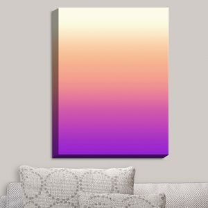 Decorative Canvas Wall Art | Susie Kunzelman - Ombre Violet | Ombre