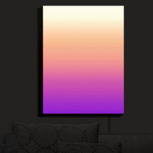 Nightlight Sconce Canvas Light | Susie Kunzelman - Ombre Violet | Ombre