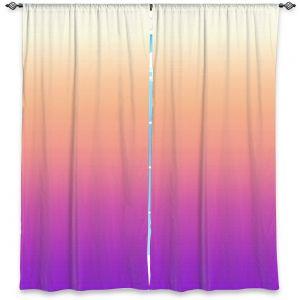 Decorative Window Treatments | Susie Kunzelman - Ombre Violet