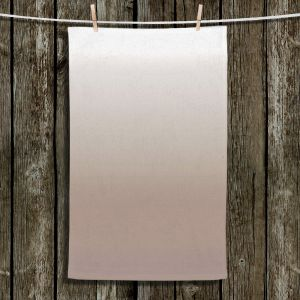 Unique Bathroom Towels | Susie Kunzelman - Ombre Warm Taupe
