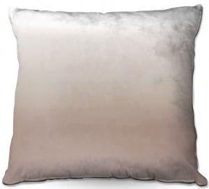 Throw Pillows Decorative Artistic | Susie Kunzelman - Ombre Warm Taupe