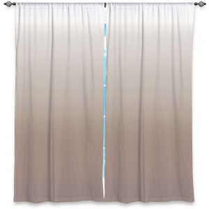 Decorative Window Treatments | Susie Kunzelman - Ombre Warm Taupe
