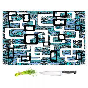 Artistic Kitchen Bar Cutting Boards | Susie Kunzelman - Organic Blue