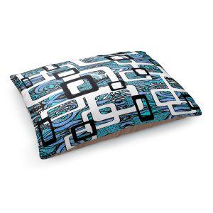 Decorative Dog Pet Beds | Susie Kunzelman - Organic Blue