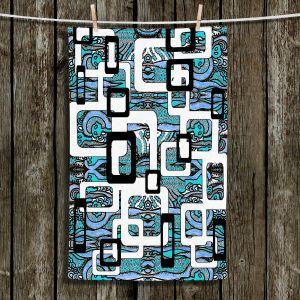 Unique Bathroom Towels | Susie Kunzelman - Organic Blue