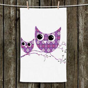 Unique Bathroom Towels   Susie Kunzelman - Owl Argyle Rose
