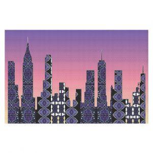 Decorative Floor Coverings | Susie Kunzelman - Pantone New York Skyline