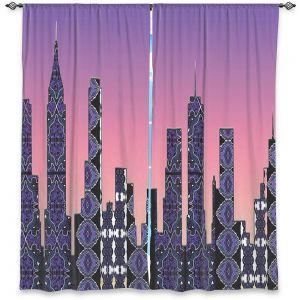 Decorative Window Treatments | Susie Kunzelman - Pantone New York Skyline