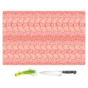 Artistic Kitchen Bar Cutting Boards   Susie Kunzelman - Pretty Petals   Colorful abstract pattern