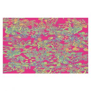 Decorative Floor Coverings | Susie Kunzelman - Rainbow Garden
