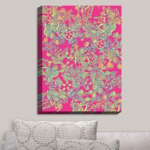 Decorative Canvas Wall Art | Susie Kunzelman - Rainbow Garden | Patterns