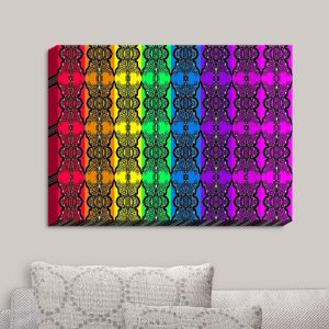 Decorative Canvas Wall Art | Susie Kunzelman - Rainbow Graphics | Patterns