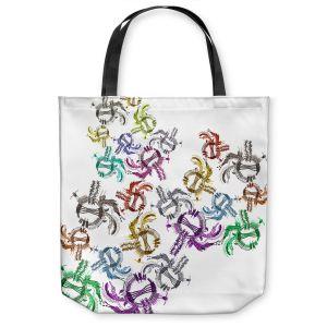 Unique Shoulder Bag Tote Bags   Susie Kunzelman - Raindance l   Patterns Southwest