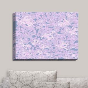 Decorative Canvas Wall Art | Susie Kunzelman - Ribbons Serenity | Patterns