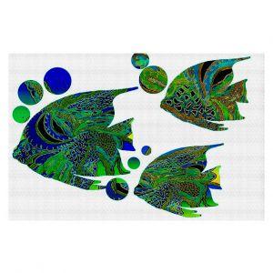 Decorative Floor Coverings | Susie Kunzelman Sailfish II