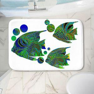 Decorative Bathroom Mats   Susie Kunzelman - Sailfish II