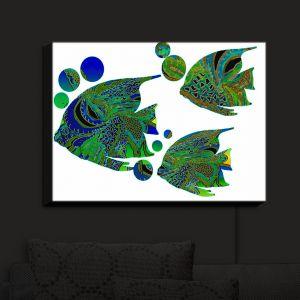 Nightlight Sconce Canvas Light | Susie Kunzelman's Sailfish II
