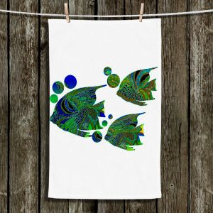 Unique Hanging Tea Towels | Susie Kunzelman - Sailfish II | Fish