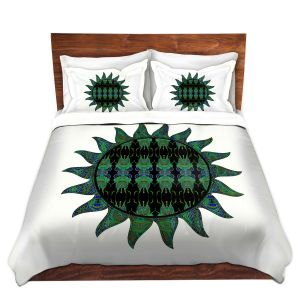 Artistic Duvet Covers and Shams Bedding | Susie Kunzelman - Sailors Sea Sun