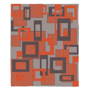 Artistic Sherpa Pile Blankets | Susie Kunzelman - Settled | Square pattern