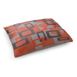 Decorative Dog Pet Beds | Susie Kunzelman - Settled | Square pattern