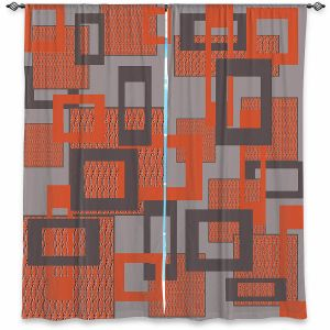 Decorative Window Treatments | Susie Kunzelman - Settled | Square pattern