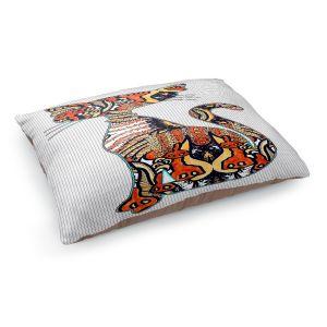 Decorative Dog Pet Beds | Susie Kunzelman - Sleek Kitty