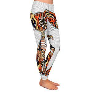 Casual Comfortable Leggings   Susie Kunzelman - Sleek Kitty