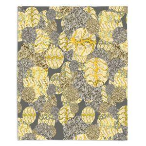Decorative Fleece Throw Blankets | Susie Kunzelman - Spinners Autumn | Abstract