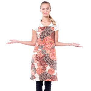 Artistic Bakers Aprons   Susie Kunzelman - Spinners Mango   Abstract