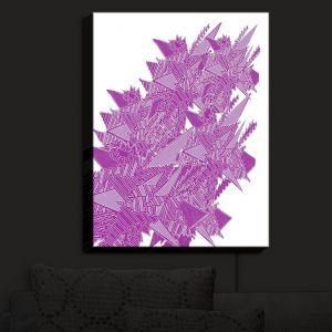 Nightlight Sconce Canvas Light | Susie Kunzelman - Stained Glass Pantone Bodacious