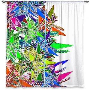 Decorative Window Treatments | Susie Kunzelman - Stained Glass | Abstract Geometric Colorful