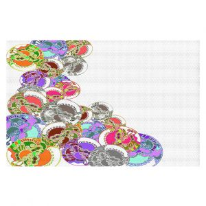 Decorative Floor Coverings | Susie Kunzelman - Sugar Babies l | Abstract Colorful