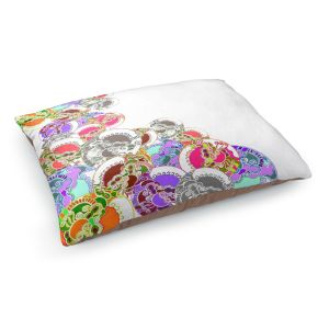 Decorative Dog Pet Beds | Susie Kunzelman - Sugar Babies l | Abstract Colorful