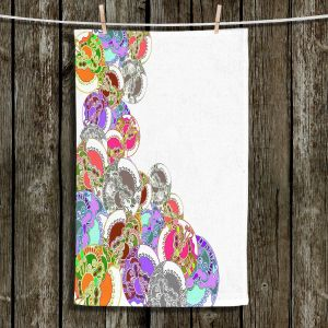 Unique Bathroom Towels | Susie Kunzelman - Sugar Babies l | Abstract Colorful