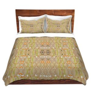 Artistic Duvet Covers and Shams Bedding | Susie Kunzelman - Summers End | Pattern repetition